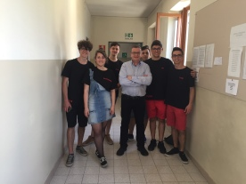 "On Friday, May 11, 2018 Dr. Bregni met students and faculty at the Istituto Enogastronomico ''G.Penna''- in S. Damiano (near Asti). He was invited by the grade 13th student collective to deliver three two-hour lectures on video game-based foreign language learning to students in grades 9-13 as part of their ""Co-Gestione"" (students/teacher cooperation in teaching & learning week)."