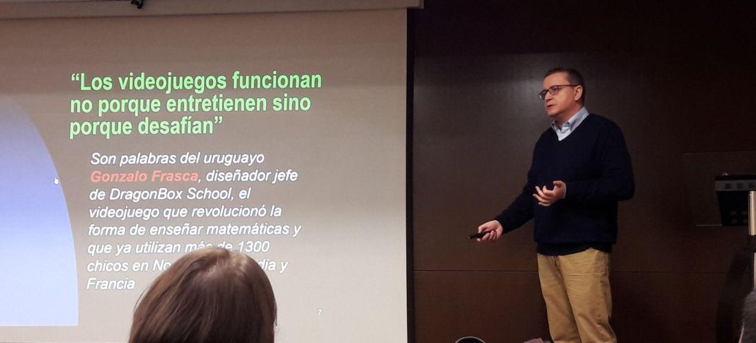 Dr. Bregni presenting at SLU Madrid, February 15, 2018