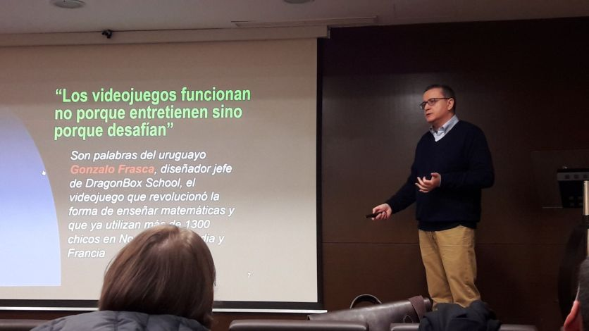Dr. Bregni presenting at SLU Madrid, February 15, 2018